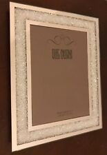 Oleg Cassini Crystal Diamond Picture Frame 5x 7 Ebay