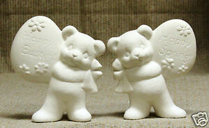 Ceramic-Bisque-Bears-with-Eggs-Clay-Magic-Mold-1484-U-Paint-Ready-To-Paint