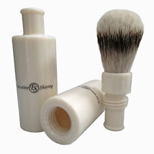 Executive Shaving Silvertip Turnback Travel Shaving Brush (SB55I)