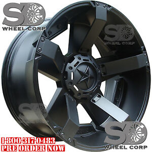 17x8-Black-XD-XD811-6x135-6x5-5-10-Wheels-Couragia-MT