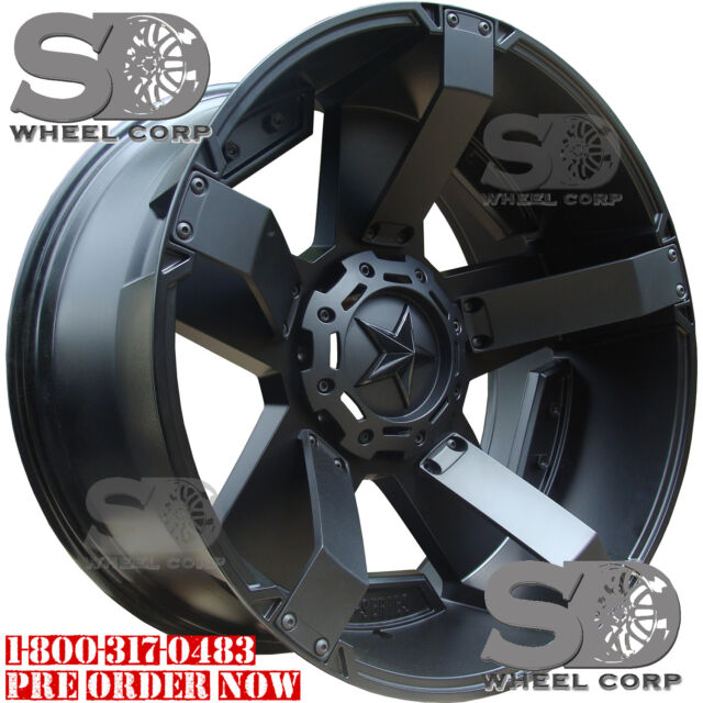 17x8 Black XD XD811 6x135 & 6x5.5 +10 Wheels Couragia MT
