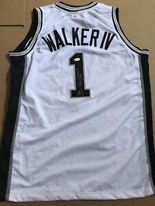 Lonnie Walker IV Signed Autographed San Antonio Spurs Jersey JSA COA ... 4a9213acd