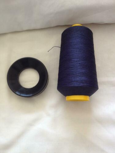 Thick Ticket 40/'s 10 x 32500mtr Polyester Sewing Bulk Looper thread Blue