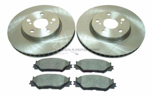 Front 2 Mintex Disques De Frein /& Plaquettes Pour Lexus IS220 IS220d Diesel IS250 2005-2011