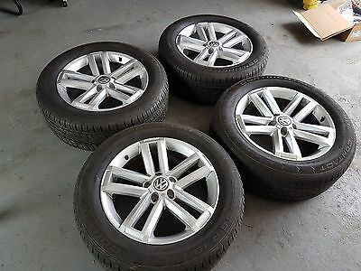 "VW Amarok 19"" Cantera Highline Alloy Wheels"