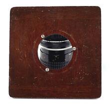 Deardorff Lens Board, 6 x 6 inches, 57 mm lens opening
