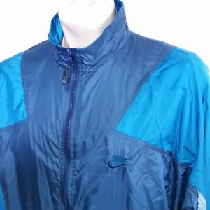 033f27ce59d1 Image is loading VTG-90s-Nike-Windbreaker-Jacket-Colorblock-Coat-Lined-