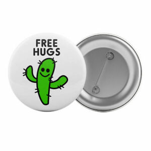 Free-Hugs-Cactus-Funny-Badge-Button-Pin-1-25-034-32mm