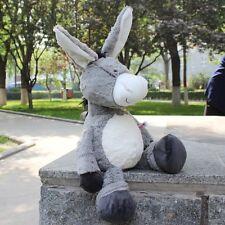 Stuffed Animals gray donkey soft toys plush doll 35CM kids gifts