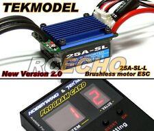 HOBBYWING EZRUN TEKMODEL RC Brushless Motor 25A-L ESC & Program Card CA067