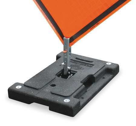 DICKE DSB100 Sign Stand,Traffic,Stackable,41 Lbs