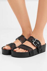 f22ce9343af8 New  350 Rag   Bone Evin Mesh Platform Sandals in Black sz 41 10 11 ...