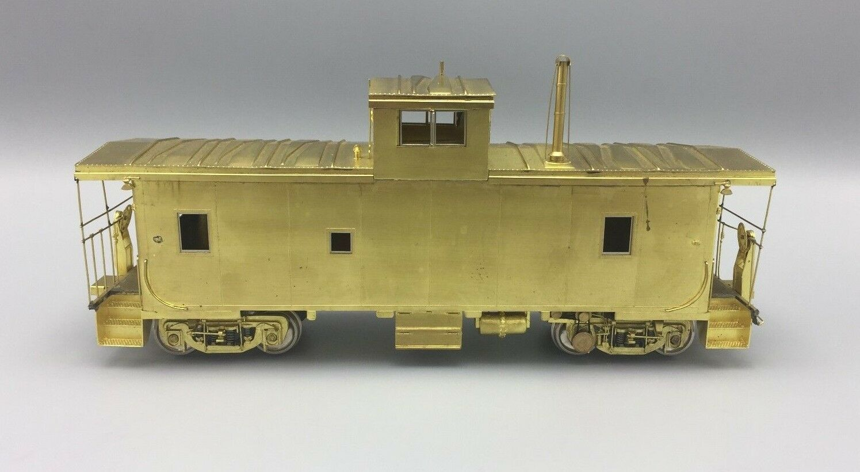 O Scale Overland Imports OMI Brass Union Pacific CA-10 Caboose w truck generator