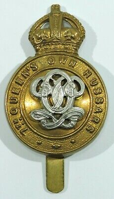 British Army Pin Badge 7th Queen/'s Own Hussars
