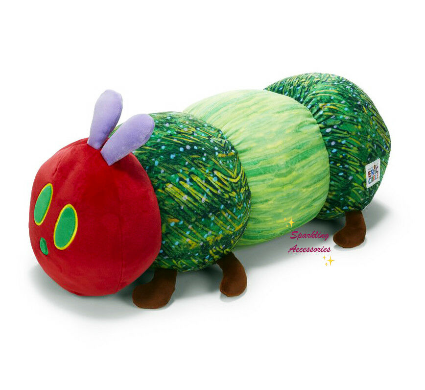 NEW Eric Carle Very Hungry Caterpillar Plush Soft Cuddle Hug Pillow Large 60cm