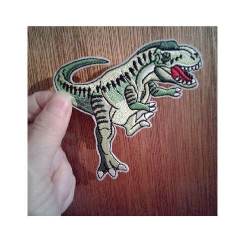 Science Iron On Patch Prehistoric D Museum Dinosaur