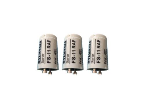 starter sylvania FS-11 RAF universal 4-65W tube fluorescent pack de 1a 25 Pièces