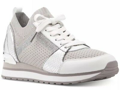 Michael Kors Liv Trainer Aluminum en gris | fashionette