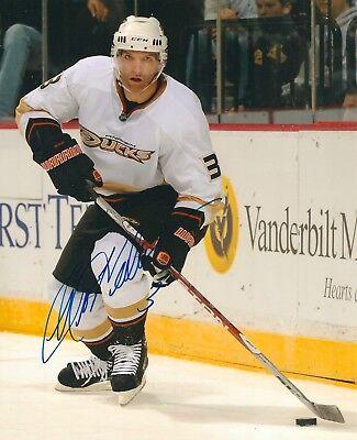 Flight Tracker Bret Hedican Signed Anaheim Ducks 8x10 Photo Coa Skilful Manufacture Sports Mem, Cards & Fan Shop Hockey-nhl