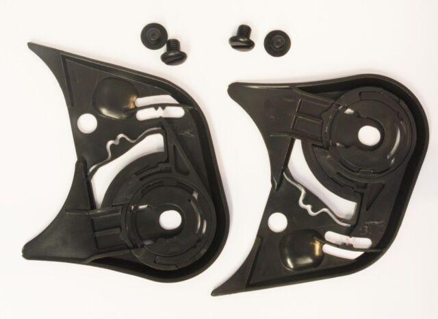 Icon Proshield Pivot Kit Visor Base Plates for Icon Alliance Black Airframe
