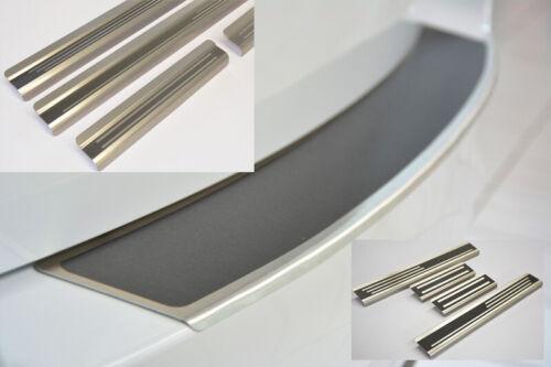 SparSET für SEAT ALHAMBRA 2010 Ladekantenschutz Einstiegsleisten TITAN AluNox®