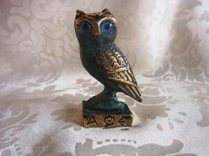 Bronze-Figur-Eule-auf-Sockel-owl-mit-antiker-Patina-526