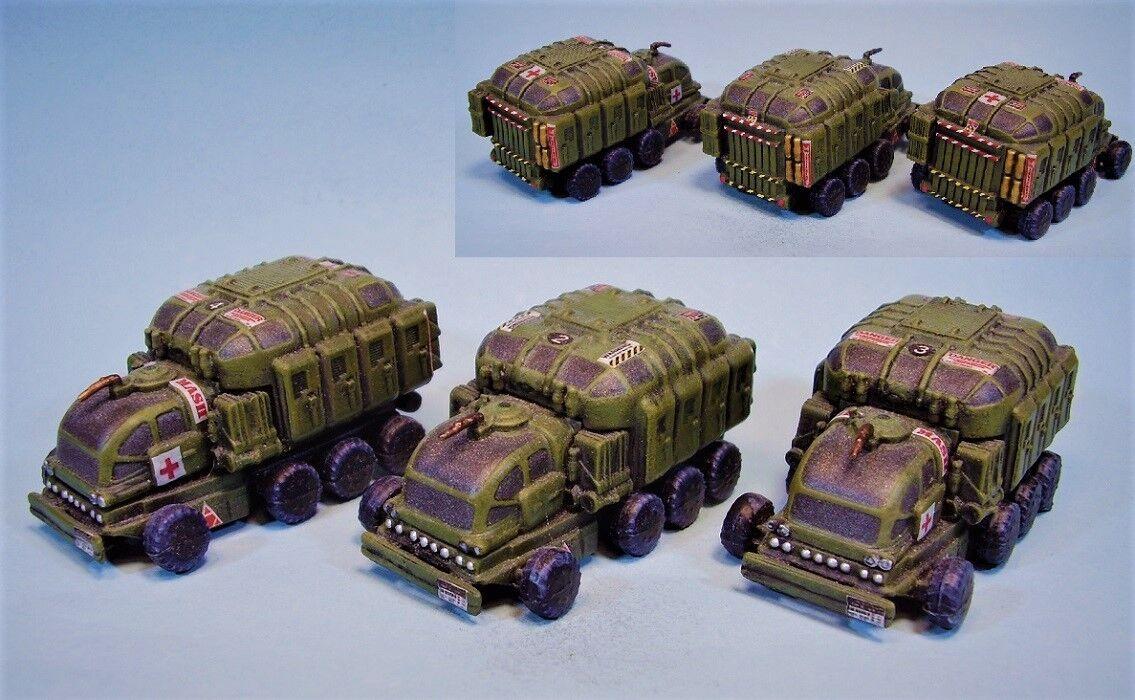 MECHWARRIOR Pintado Miniatura Battletech camiones camiones camiones OD  Precio al por mayor y calidad confiable.