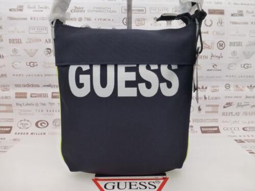 nylon Pouch Case Navy Guess Borse 6285 Db Bnwt Slim Med Bag Crossbody Vibes Sport in RwdqzOw