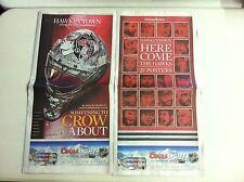 Chicago Blackhawks Stanley Cup Champions 21 Posters/Goalie Mask(TRIBUNE 6/26/13)