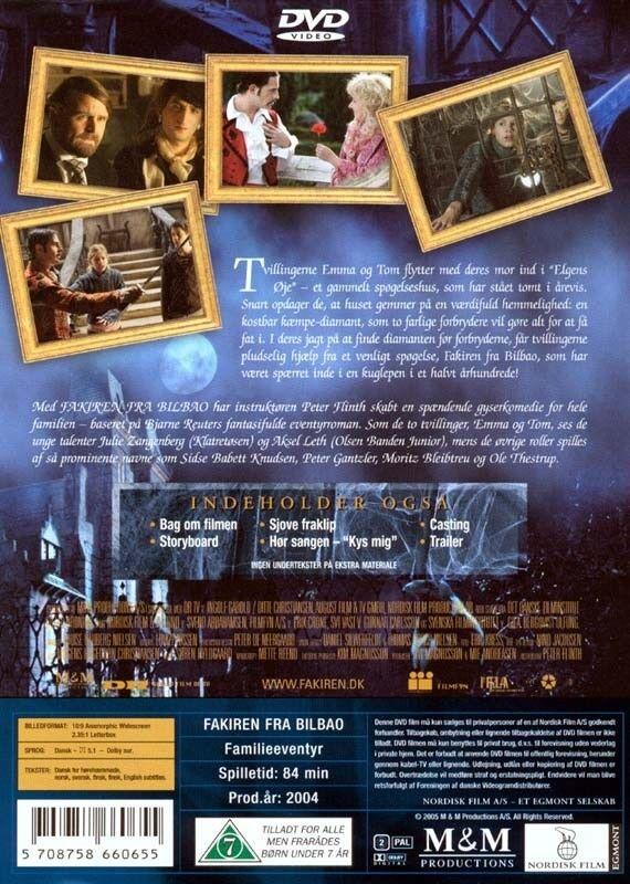 Fakiren fra Bilbao, instruktør Peter Flinth, DVD