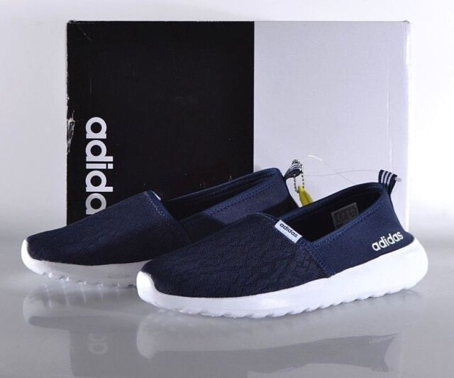 d173d501bad Adidas Women s Cloudfoam Lite Racer Slip-On Running Shoes - Navy New!