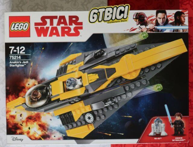 LEGO STAR WARS  `` ANAKIN'S JEDI STARFIGHTER ´´  Ref 75214   NUEVO A ESTRENAR