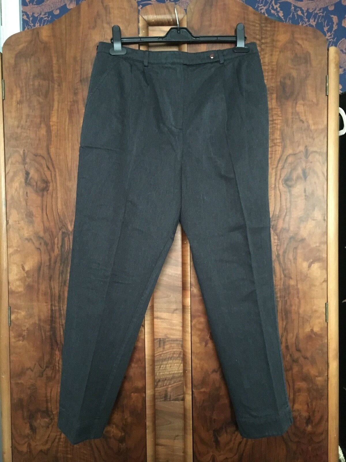 Fred Perry Womens Grey Peg Lightweight Denim Trousers Never Worn