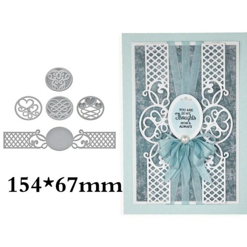 Spitze dekorative Grenze Sammlung Schablone für DIY Scrapbooking Karten Handwerk