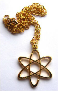 GORGEOUS-HANDMADE-ATOM-CHEMISTRY-SCIENCE-PENDANT-WITH-NECKLACE-FREE-GIFT-BAG