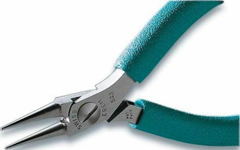 Erem by Weller 120 mm Non Slip Plastic Handle Long Nose Pliers with 23mm Jaw Len