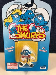 Smurfs-20033-Clown-Smurf-Circus-Figure-Vintage-PVC-Toy-Figurine-Schleich-Peyo