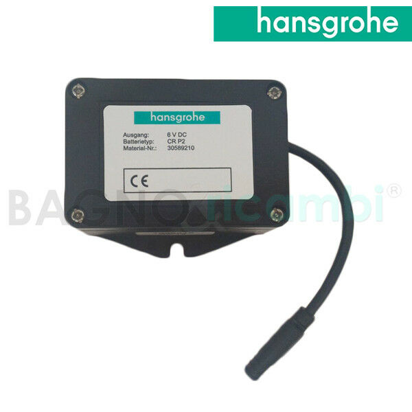Remplacement Couverture batterie 98801000 + batterie 97399000 Hansgrohe