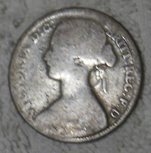 Details about *RARE OLD ENGLISH COIN: QUEEN VICTORIA ONE PENNY PIECE from  1861 [L]