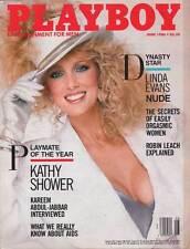 US PLAYBOY 1986/06 [June 6/86] Kathy Shower *Rebecca Ferratti* Linda Evans * TOP