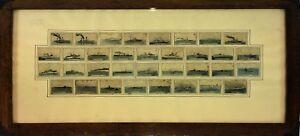 COLLECTION-DE-34-COUVERTES-DE-ALLUMETTES-NAVIRES-ARMEE-ESPAGNOLE-ESPAGNE-1931