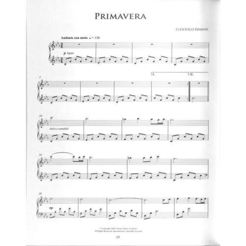 Noten für Klavier Ludovico The easiest original Pieces for Piano Einaudi