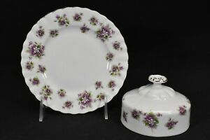 Royal-Albert-Sweet-Violets-Round-Covered-Butter-Dish