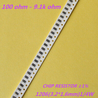 Widerstand Resistor SMD 1206  1/%   82R   0,25W NEW #BP 100 pcs