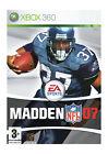 Madden NFL 07 (Microsoft Xbox 360, 2006) - European Version