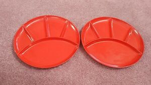 Image is loading Vintage-Imperial-International-Divided-Sushi-Melmac-Plates -Japan & Vintage Imperial International Divided Sushi Melmac Plates Japan | eBay