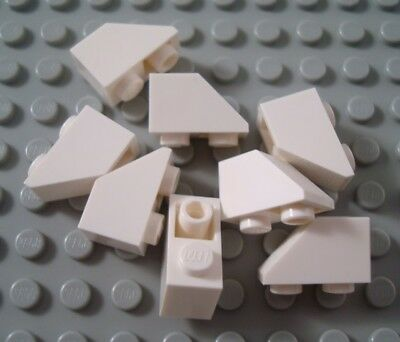 New LEGO Lot of 12 White 2x1 Inverted Slopes