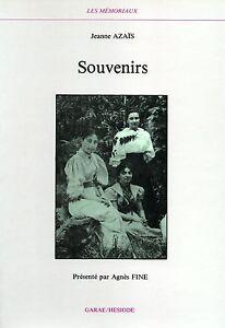 SOUVENIRS-JEANNE-AZAIS