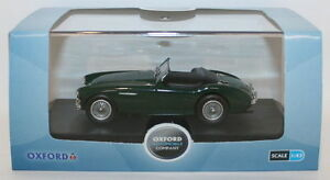 Oxford-Diecast-1-43-Scale-AH1003-Austin-Healey-100-BN1-Open-Spruce-Green