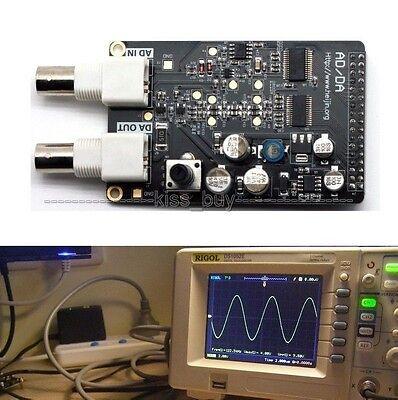 High-speed AD9708 AD9280 AD / DA Module FPGA Development Board Black Gold